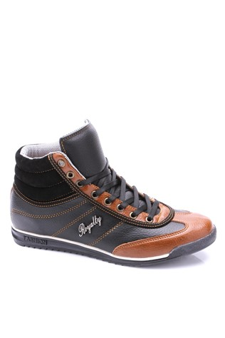 Ryt-302 Black & Cafea masculin's boot