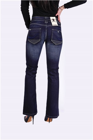 Candy Dessa Jean 617 Dark Blue Resin Wash J0545FT