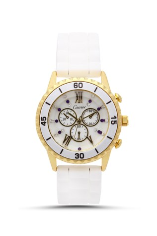 Carrier Crr-034 bilí lady's watch