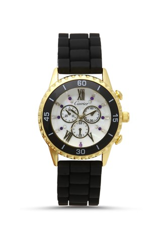 Carrier Crr-057 Black-gold watch