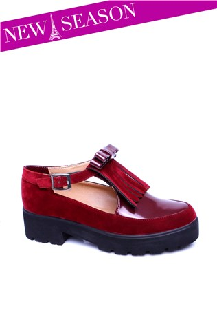 Cd 117 Bordeaux Women's Shoe