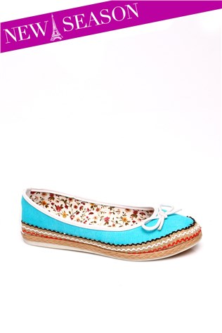 Cd 35 Turquoise Women's Shoe