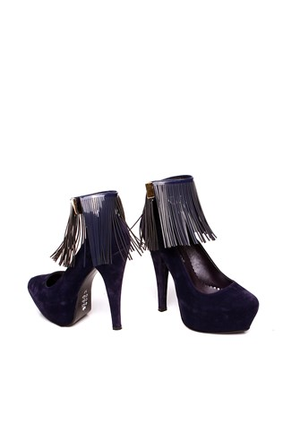 Cd 3546 Dark Blue Women's Shoe