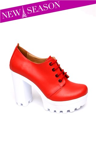 Cd 5555 Red Women's Shoe