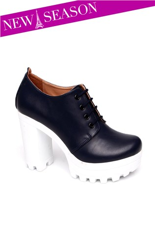 Cd 5555 Dark Blue Women's Shoe