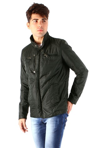 Coat and Jacket 4001 Green Men's Jacket