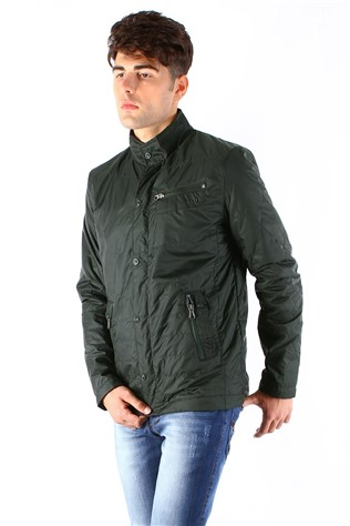 Coat And Jacket 7001 Green Men's Jacket