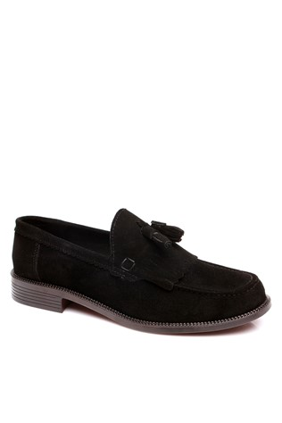 101 Black suede masculin's shoe