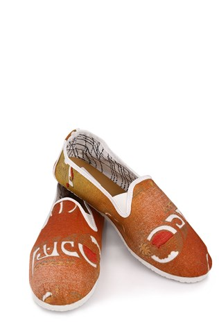 Crokee Crk-027 Orange Men's Shoe