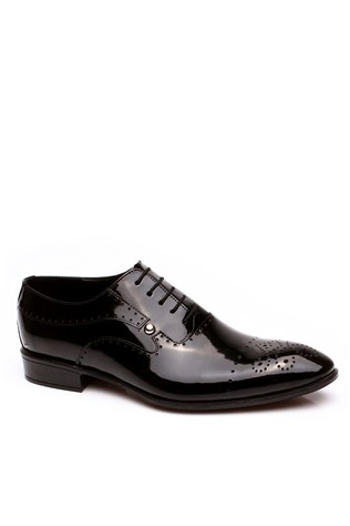 354 Black Men's Shoe