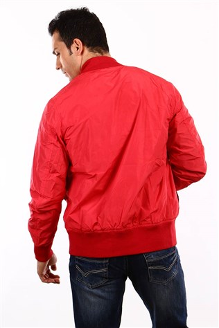 D&a 202tf043 Men's Red Jacket