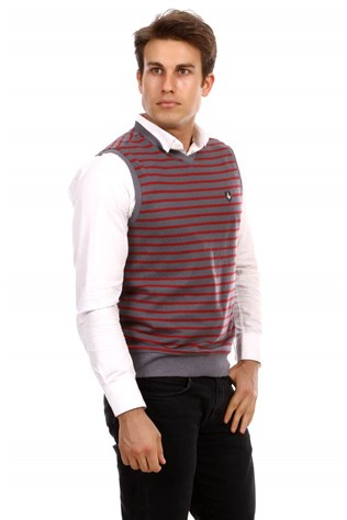 D&a 201sk006 Men's Anthracite Sweater