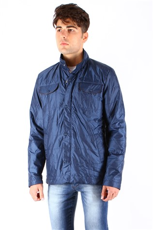 Danger Jeans 2007 Blue Men's Jacket
