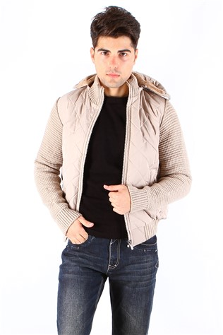 Maccali 4022 Men's Beige Jacket