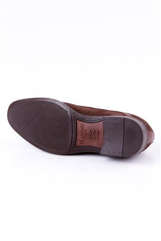 Dé Lasage 0012 Coffee Suede Men's Shoe