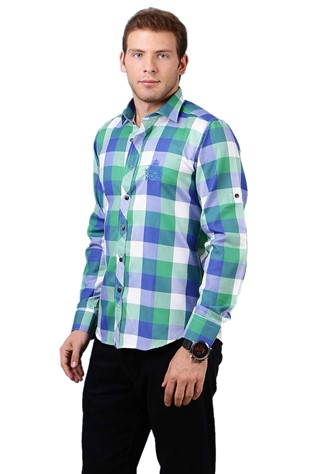 Deep Red Dp158-6 Men's Shirt