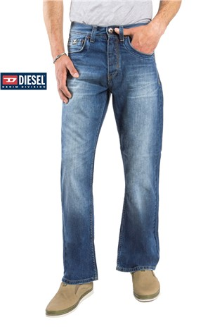 Denim 604 Medium modrýWash J3622MF