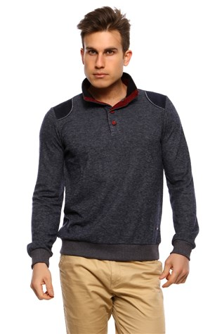 Duca Blanca D-2060 Men's Grey Sweatshirt