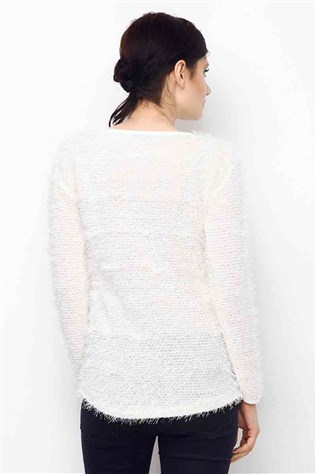 Straight Blouse Eb-1115 White
