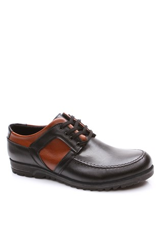 4053 Black-Brown Men's Shoe