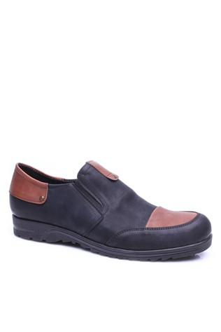 4060 Black-Brown Men's Shoe