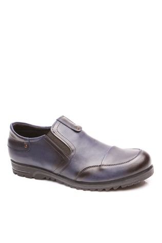 4060 Dark Blue Men's Shoe