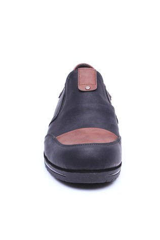 Erg 4060 Black-Brown Men's Shoe