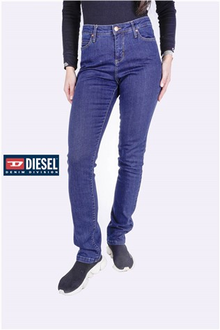 Evie Straight Leg 615 Dark Blue Wash J4681FF
