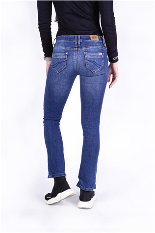 Ezara Bootleg 604 Medium Blue Wash J4576FF