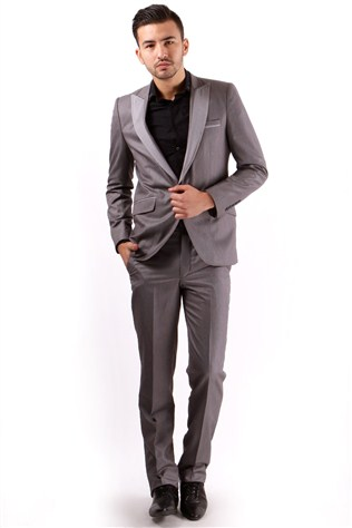 Fc Plus P025219 302 Men's Grey Costume