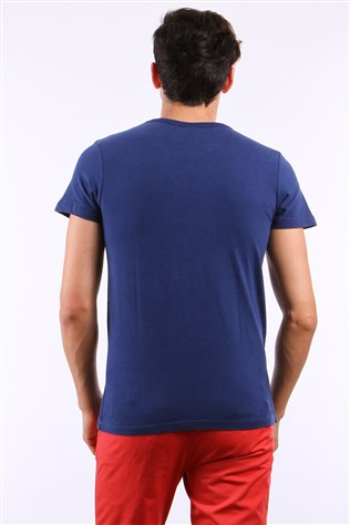 Fe 6110 Dark Blue Men's T-shirt
