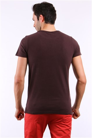 Fe 6113 Coffee Men's T-shirt