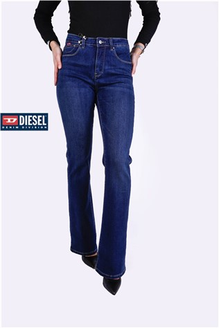 Fia High Waist BootCut 605 Blue Wash J5103FS
