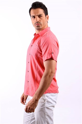 Fonxion 1008-3 Salmon Men's Shirt