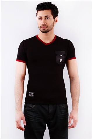 Free Bull Frb027 Black Men's T-shirt