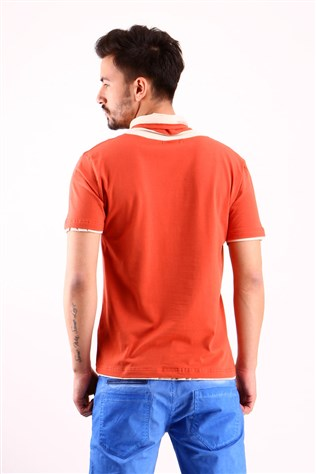 Freebull Fb - 1009-11 Orange Men's T-shirt