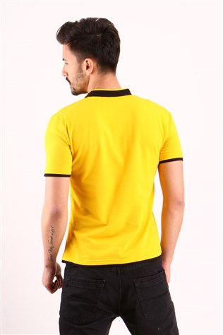 Freebull Fb-1013-7 Yellow Men's T-shirt