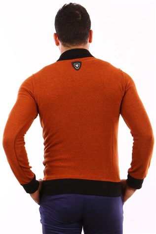 Freebull Fbl-1002 Men's Brown Sweatshirt