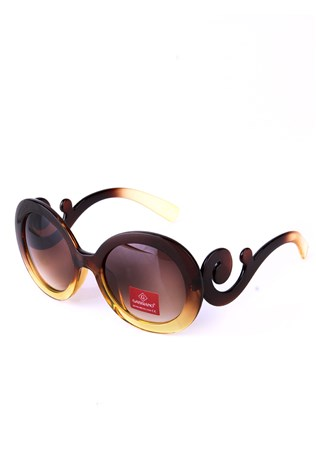 Gabbiano Gb 837 Leopard lady's sunglesses