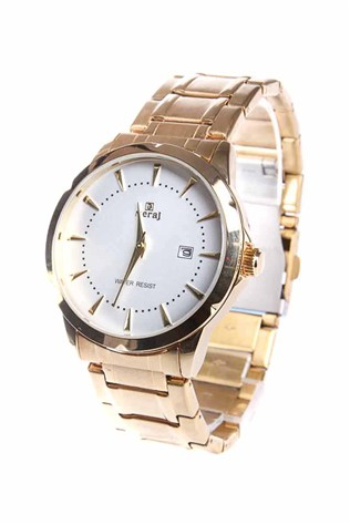 Gemstar Watch  - Gold/White 22753612
