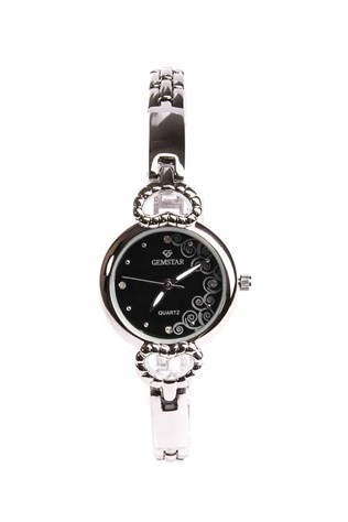 Gemstar Watch  - Silver/Black 22753513