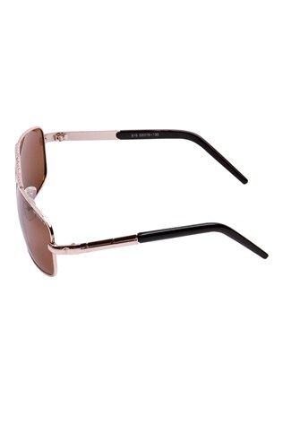 Polarızed Genuova 816 58/16-130 Gold Sunglasses