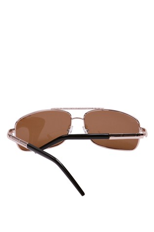 Genuova 816 58/16-130 Gold Sunglasses