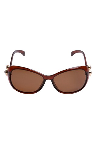 Polarızed Genuova Gv 20791-5 Rogule Coffee Sunglasses