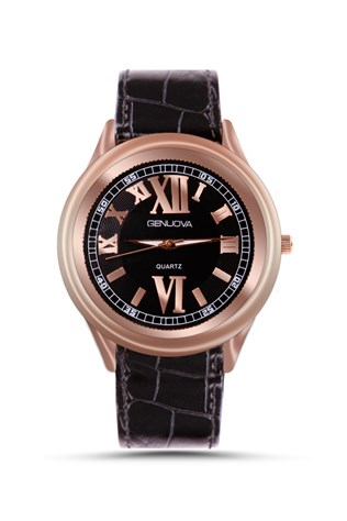 Gnv1908 Brown Gold watch