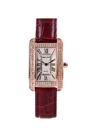 Gnv1909 Bordeaux lady's watch
