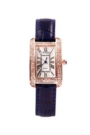 Gnv1909 Dark blue lady's watch