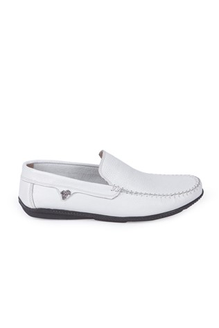 GPC POLO Men's Leather Shoes White 9979120
