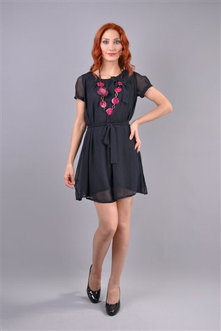 Herry Hk24ı606001 H12k60701 Dark Blue Dress