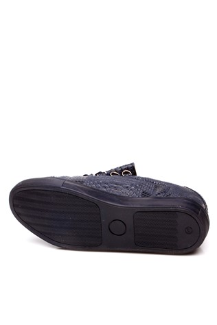 2402 Dark blue sport men's shoe